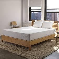 bedroom platform bed mattress support queen memory foam mattress