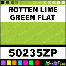 rotten lime green flat factory match spray paints aerosol