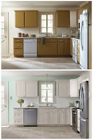 Kitchens  Kitchen Makeover Idea With White Cabinet Feat Glass - Expensive kitchen cabinets