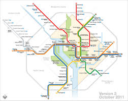 Washington Dc Subway Map The Evolution Of My Washington Dc Metro Map Now Transit Maps