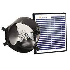 crawl space ventilation fan us sunlight 1680 cfm 20 watt black solar powered gable fan 97334