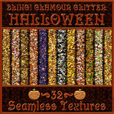 roku halloween background bling glamour halloween glitter texture pack 2d graphics merchant