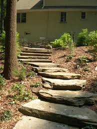 Rock Garden Steps by Naturescapes Landscaping Portfolio Gallery
