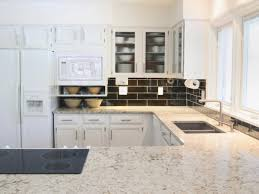 Kitchen Countertop Colors Pictures U0026 Ideas From Hgtv Hgtv Sunshiny White Kitchen Cabinets With Granite Counter Tops