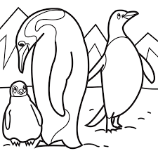 cartoon penguin coloring pages free download clip art free
