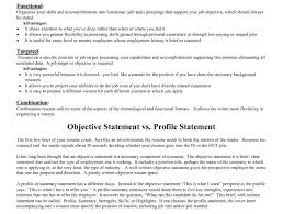 Example Resume Profile Statement by Profile Statement Resume Template Examples