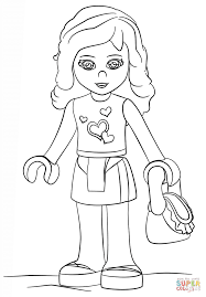 lego and friends coloring pages coloring home