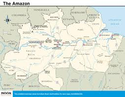 Amazon World Map by Printable Travel Maps Of Brazil Moon Travel Guides