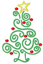 swirly tree embroidery designs machine embroidery