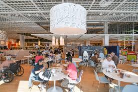 inside 600 seat madness america u0027s largest ikea eater la
