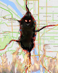 Traffic Map Portland by Portland Traffic Monster Gets Stronger With Heat Portland