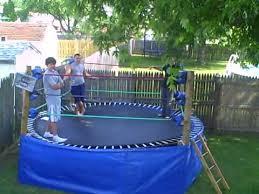 backyard wrestling ring for sale cheap backyard troline wrestling ring youtube