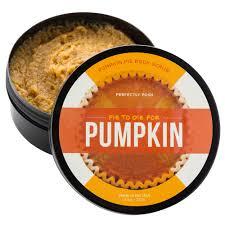 pie to die for pumpkin scrub perfectly posh
