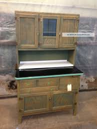 Kitchen Maid Hoosier Cabinet Furniture Gorgeous Antique Hoosier Cabinet With Glass Doors For
