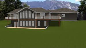 walk out ranch house plans uncategorized walkout ranch house plan surprising with beautiful
