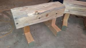 Log Saw Bench Heavy Trestles For Log And Beam Work Granite Mountain Woodcraft