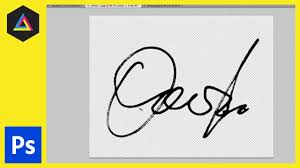 Signature Create A Digital Signature In Adobe Photoshop Colour Range Tool