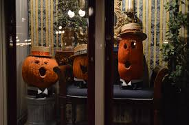 photos halloween arrives at disneyland with pumpkins galore