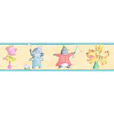 bordüre kinderzimmer selbstklebend bordüre selbstklebend kinderzimmer lustige tiere