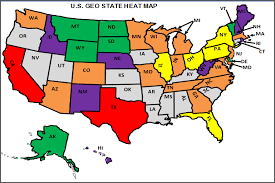 heat map us states excel heat map us states us state heatmap excel template