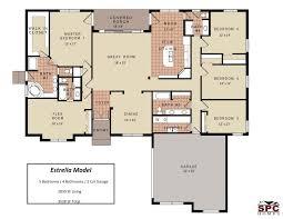 100 one open house plans baby nursery 4 bedroom floor