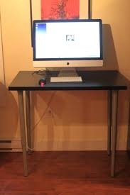 Rolling Stand Up Desk Knotten Standing Desk Ikea Intended For Awesome House Stand