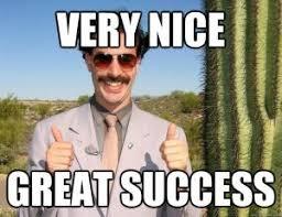 Nice Job Meme - very nice great success
