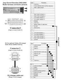 2001 jeep grand cherokee radio wiring diagram jeep free wiring