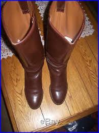 womens leather boots size 9 s nine knee high boots size 9 brown leather