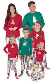 sleepytimepjs stripe family matching pajama
