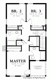 master bedroom with 2 beds his and hers dual suite home plans