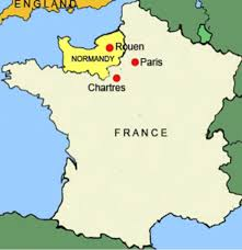 France On A Map by The Middle Ages By Christina Dickerson