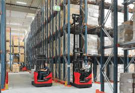 reach trucks from linde material handling