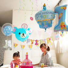baby boy 1st birthday 75x44cm balloon party baby boy girl number balloons baby birthday