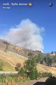 Wildfire Burning Near Me by California Wildfires Could Force Stars Like Kim Kardashian To