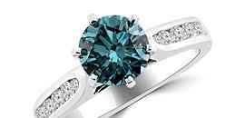 Blue Diamond Wedding Rings by Blue Diamond Engagement Rings Wedding Bands