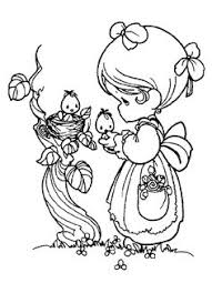coloring pages precious moments belle bimbe