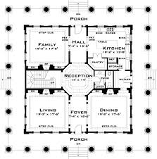 plantation house floor plans house plan 67551 at familyhomeplans com