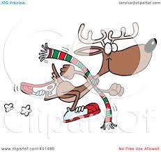 royalty free rf clip art illustration of a cartoon running