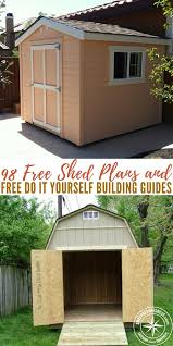 shed plans free 98 free shed plans and free do it yourself building guides