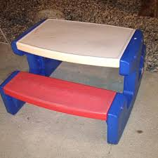 little tikes bench table redoing a little tikes table hometalk