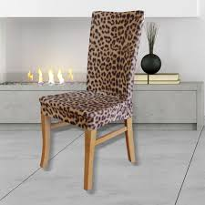 Animal Print Chairs Ipanema Side Chair For Example Letus Say - Animal print dining room chairs