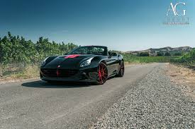 Ferrari California Black - ag luxury wheels ferrari california forged wheels