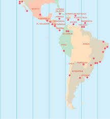 south america map aruba central south america sales map