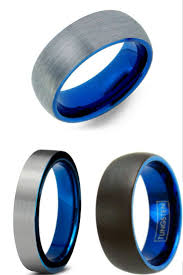 mens blue wedding bands blue tungsten wedding rings tags tungsten mens wedding rings