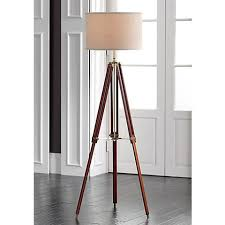 tripod floor l wooden legs possini euro cherry finish wood surveyor tripod floor l w1650