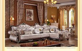 European Living Room Furniture Living Room European Style Sofa New Classics Sofa Designs