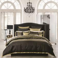 black bed linen just bedding