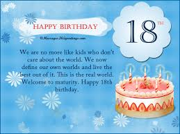 18th birthday wishes messages and greetings 365greetings