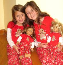 dollie and me matching pajamas for and dolls fits american